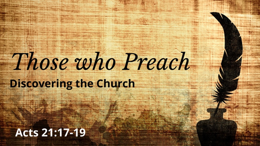 Those who Preach