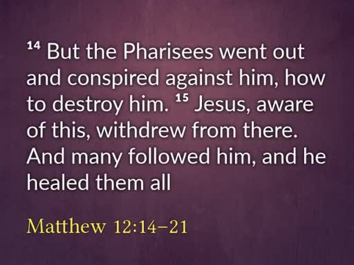 Jesus, the Suffering Servant