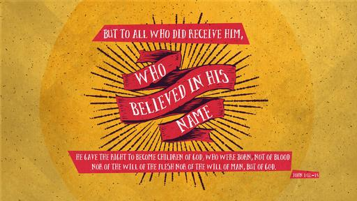John 1:12–13 verse of the day image