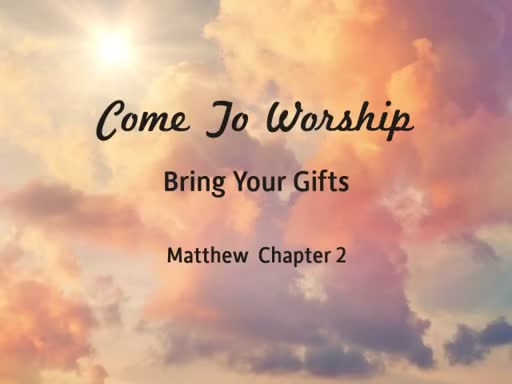Come To Worship