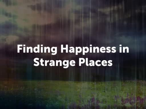 Finding Happiness in Strange Places