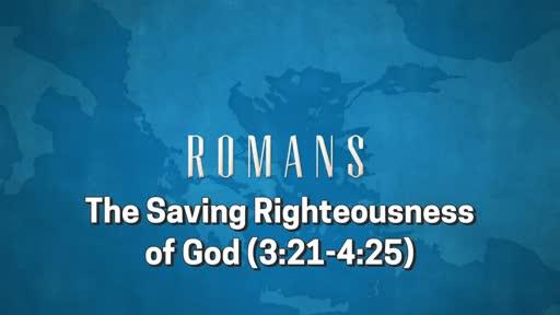 Romans: Session 7 (3:21-26)
