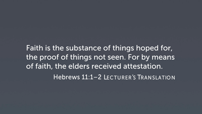 NT362 Exegetical Study: Letter to the Hebrews - Faithlife TV
