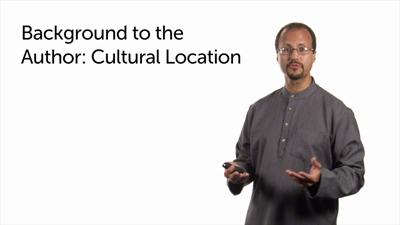 Author's Cultural Location: Part 2