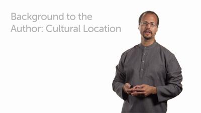 Author's Cultural Location: Part 1