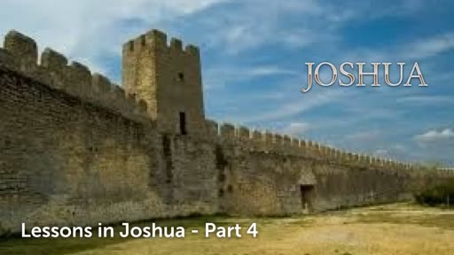 Letting go of Jericho