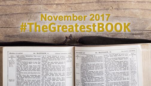 #TheGreatestBOOK
