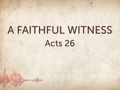 A Faithful Witness