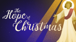 Angels  The Hope of Christmas 16x9 PowerPoint Photoshop image