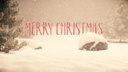 Nostalgic Christmas  PowerPoint image 1