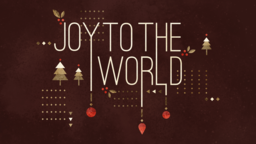 Joy to the World 16x9 PowerPoint Photoshop image