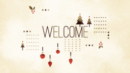Joy to the World welcome 16x9 PowerPoint Photoshop image