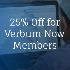 Verbum Now Members Get a Monthly Free Book