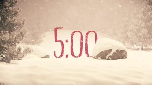 Nostalgic Christmas - Countdown 5 min