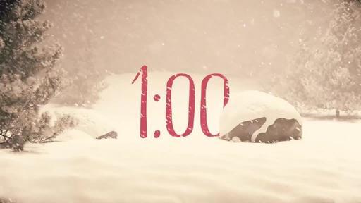 Nostalgic Christmas - Countdown 1 min