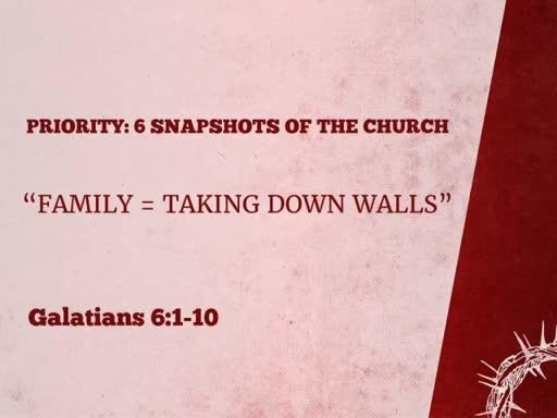 Priority: 6 Snapshots of the Church