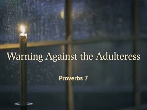 Warning Against the Adulteress
