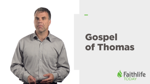 What Can We Learn from the Gospel of Thomas?