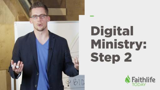 Digital Ministry Step 2: Web Presence