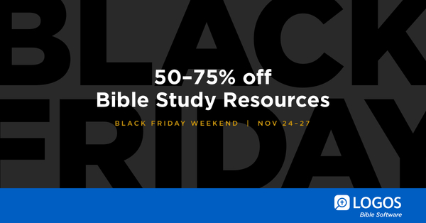 Faithlife black friday deals are here dont miss outdeals end november 27 at midnight httpbit2zwzudb fandeluxe Choice Image