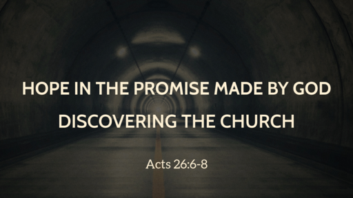 Hope in the Promise made by God