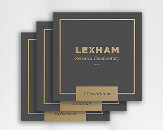 Lexham Research Commentaries: Paul's Letters Collection (13 vols.)