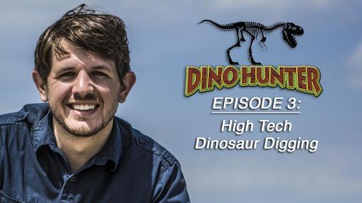 High Tech Dinosaur Digging