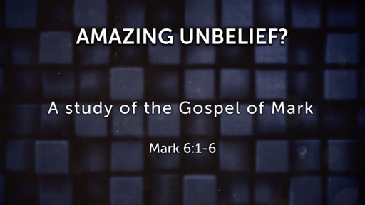 Amazing Unbelief?
