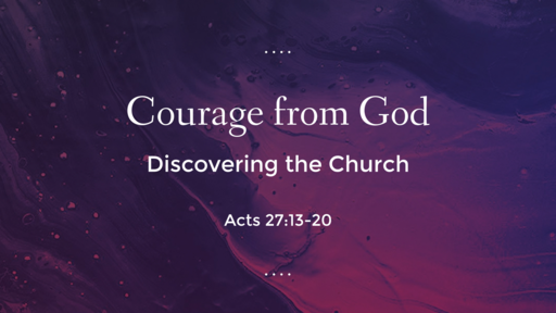 Courage from God