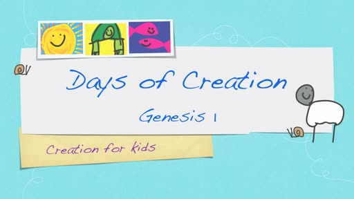 Days of Creation - Genesis 1