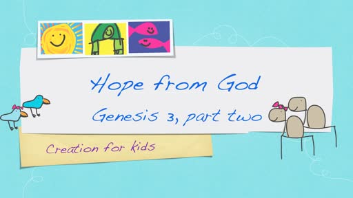 Hope from God - Genesis 3, part 2