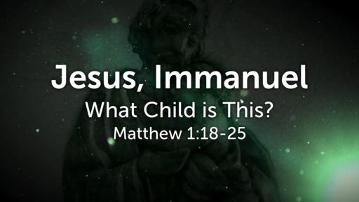 Jesus, Immanuel