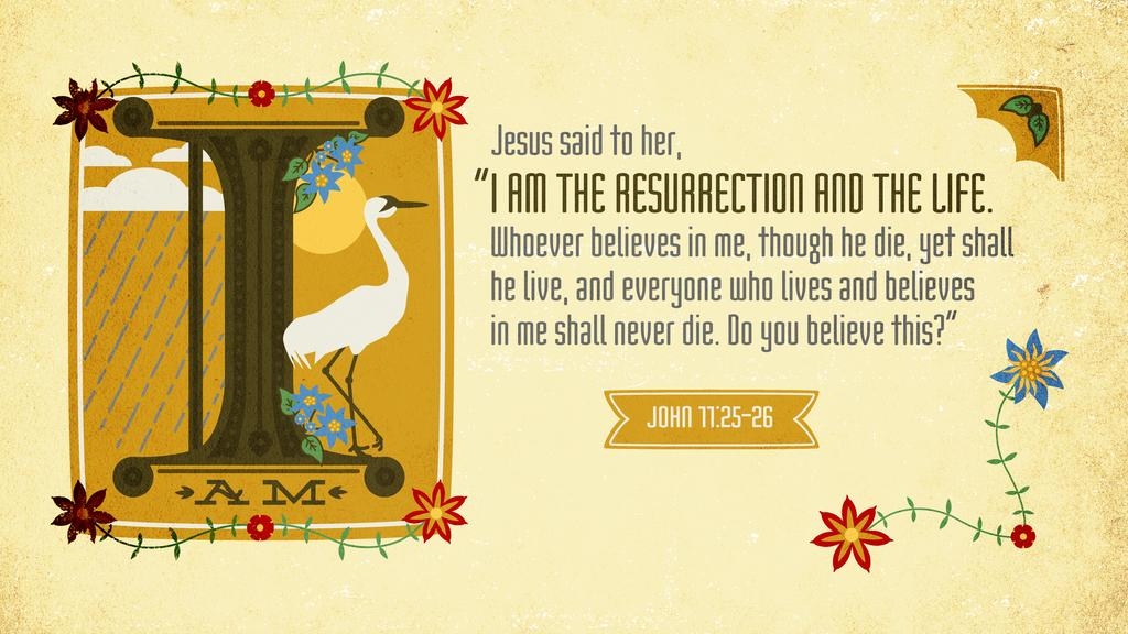 John 11:25–26 large preview