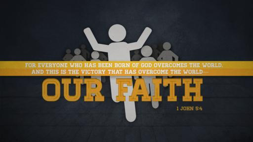 1 John 5:4 verse of the day image