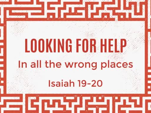 Looking For Help in All the Wrong Places
