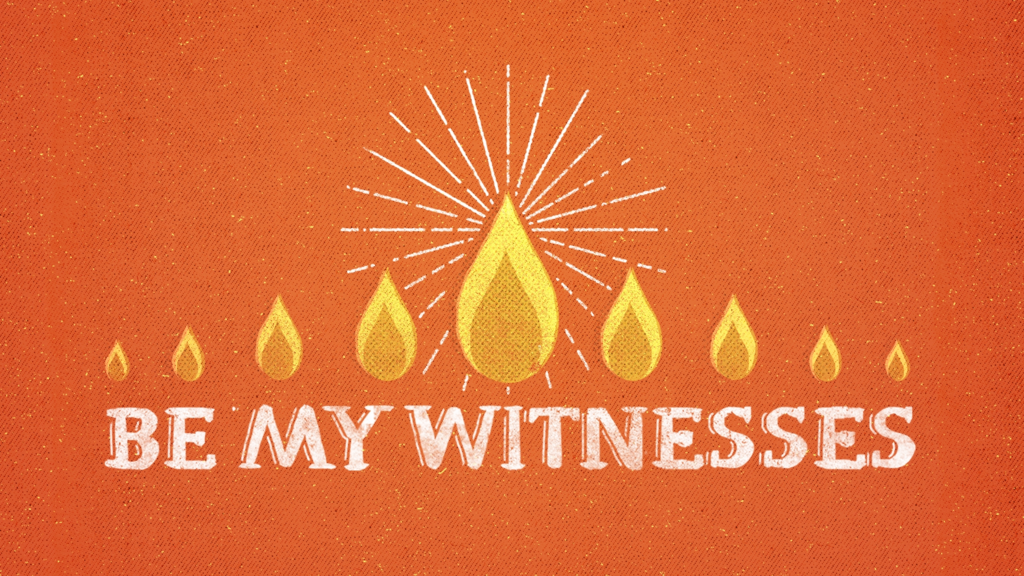 Be My Witnesses large preview