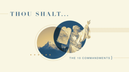 Thou Shalt shalt… 16x9 PowerPoint image
