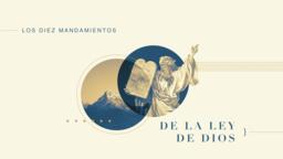 Thou Shalt los diez mandamientos de la ley dios 16x9 PowerPoint image