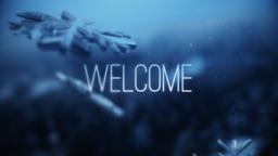 Blue Winter Snow  PowerPoint Photoshop image 1