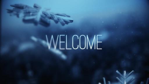 Blue Winter Snow - Welcome