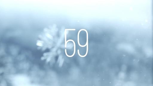 Winter Snow - Countdown 1 min
