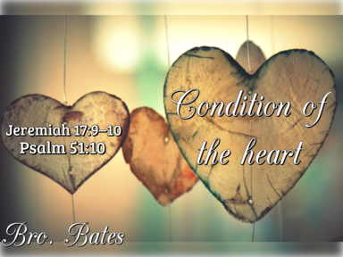 Condition of the Heart