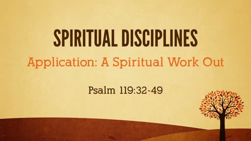 A Spiritual Workout