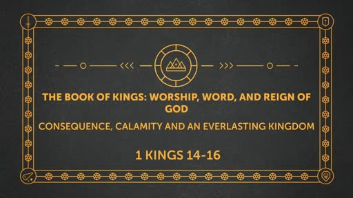 The Book of Kings: Worship, Word, and Reign of God