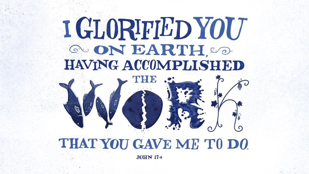 John 17:4 large preview