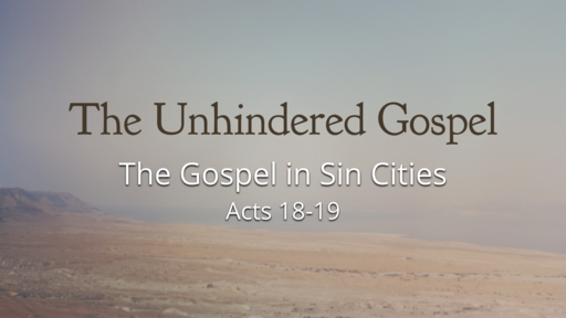 The Gospel in Sin Cities
