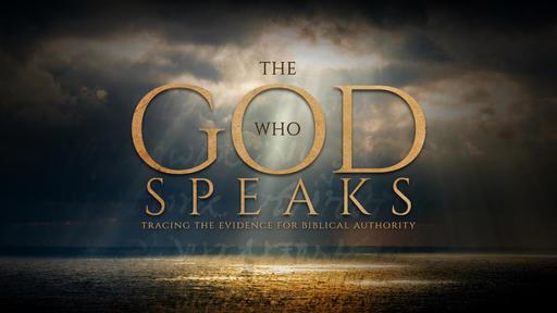 The God Who Speaks Trailer