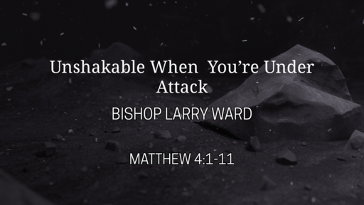 Unshakeable When You Are Under Attack