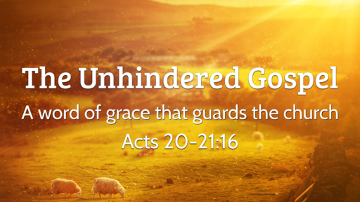 The Unhindered Gospel: A word of grace that guards the church