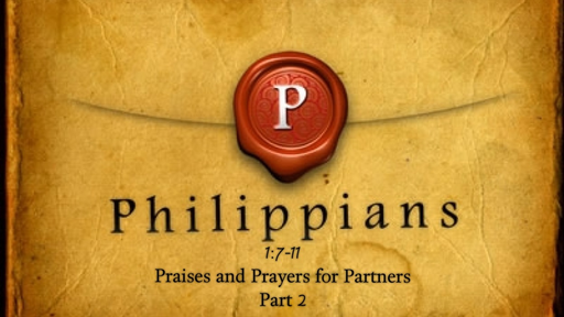 January 21, 2018 - Praises and Prayers for Partners Part 2